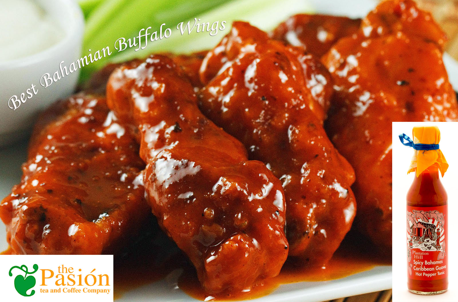 Best bahamian buffalo wings pasion tea coffee company for How to make the best chicken wings